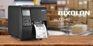 BIXOLON XT5-40 4″ Thermal Transfer Industrial Label Printer USB/Serial/Ethernet