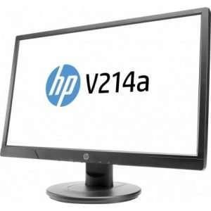"HP V214A 20.7"" Monitor, Black Color"