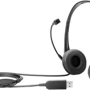 HP Stereo USB Headset Black