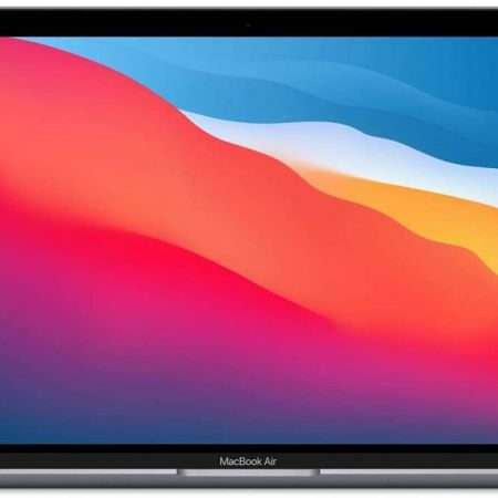 Apple MacBook Air 13.3 with Retina Display, M1 Chip with 8-Core CPU and 7-Core GPU, 8GB Memory, 512GB SSD, Space Gray