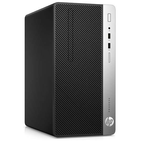 HP ProDesk 400 G6 MicroTower Core i7 9th Gen 4GB 1TB HDD DOS