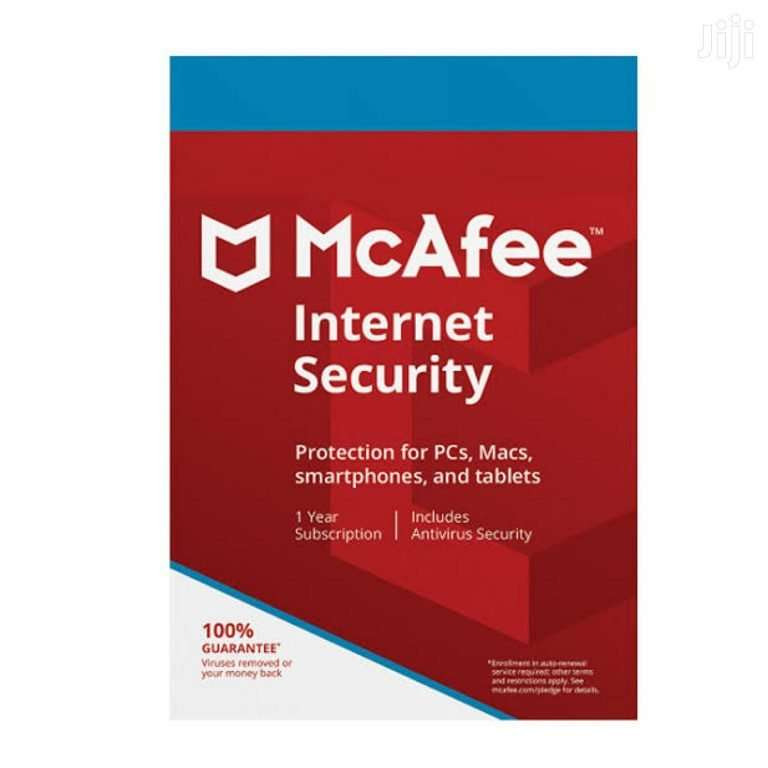 Macfee Internet Security 1 user - sleeve