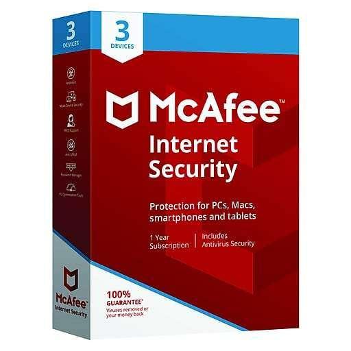 Macfee Internet Security 3 user