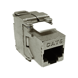 D-Link Cat6 FTP 180˚ Punch Down Keystone Jack Silver – NKJ-C6MET2B21