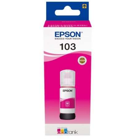Epson 103 Magneta Ecotank Ink Bottle - (C13T00S34A)
