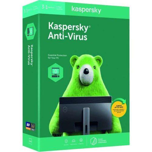 Kaspersky AV 3 + 1 PC 1YR 2019
