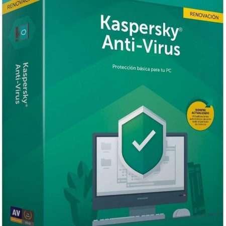 Kaspersky Kav 2020 – Anti-virus, 3 Licenses, 1 Year