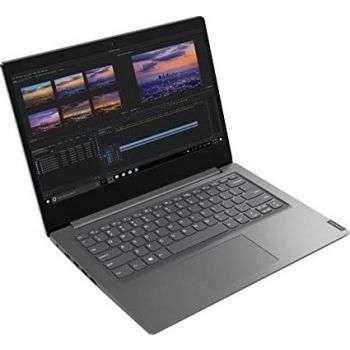 Lenovo V14 Celeron N4020 14'' HD 4GB RAM, 1 TB HDD, DOS, English Keyboard - Grey | 82C2000YAK