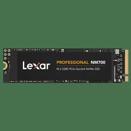 Lexar Professional NM700 M.2 2280 PCIe NVMe 1TB SSD, Gaming, Up To 3500MB/s (LNM700-1TRB)