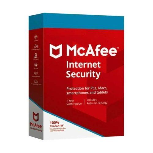 McAfee Internet Security 1 User Sleeve 1 Year