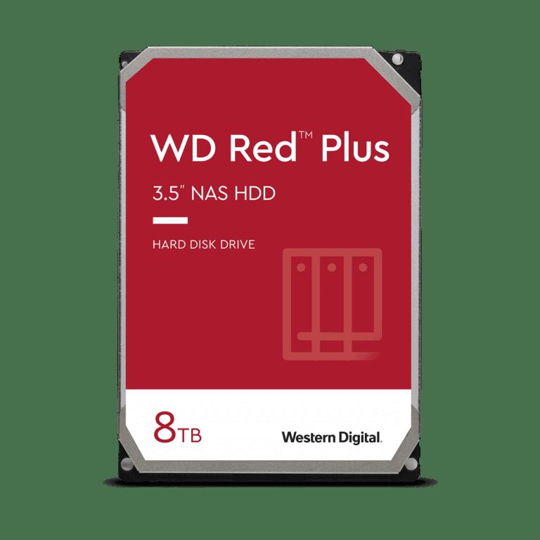 WD WD80EFAX 8TB NAS Internal Hard Drive, Red