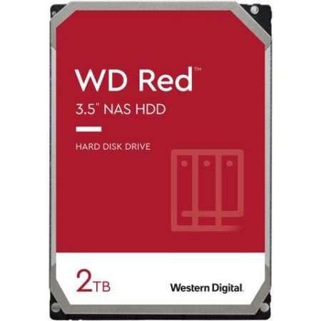 "Western Digital 2TB WD Red NAS Internal Hard Drive HDD - 5400 RPM, SATA 6 Gb/s, SMR, 256MB Cache, 3.5"" - WD20EFAX"
