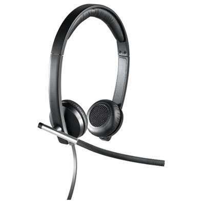 Logitech® H650e Dual USB Wired Headset