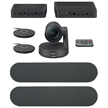 Logitech Rally Ultra-HD Conference Cam – BLACK – USB (960-001240 )
