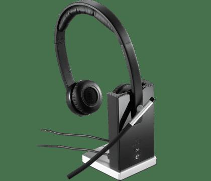 Logitech Wireless Headset H820E -981-000517