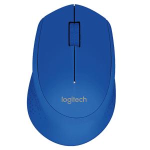 Logitech Wireless Mouse M280 - Blue (910-004290)